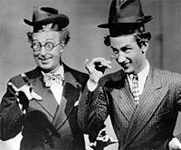 Keenan Wynn Performing with his father, Ed Wynn (1940)