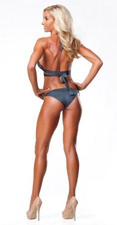 vegan athlete Monica Parodi, Bodybuilding, Yoga, P90X2 cast member