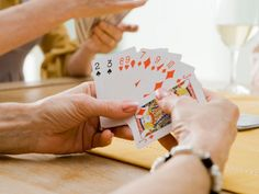 Card games, all of them, I love learning new ones.