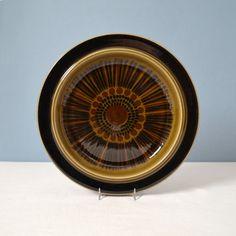 Vintage Arabia of Finland Kosmos Dinner Plate - Hand Painted on Etsy, $14.35