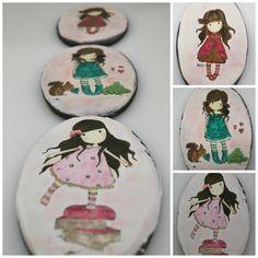 Gorjüss painted cookies - Cake by Ponona Cakes - Elena Ballesteros