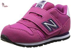 New Balance Kids Lifestyle 373 filles, cuir lisse, sneaker low, 20 EU - Chaussures new balance (*Partner-Link)
