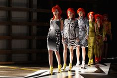 Pictures and Runway Review of Romance Was Born Spring Summer 2012-2013 Mercedes Benz Fashion Week Australia Catwalk Show