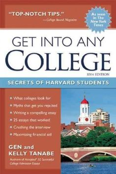 Based on the real-life experiences of students who were admitted to the United States' most prestigious universities, this guide provides proven strategies to get into and pay for any college. Detaili