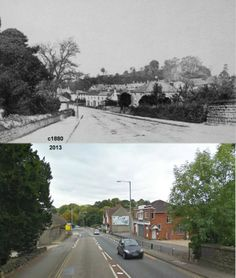 Hendford Hill Then & Now.