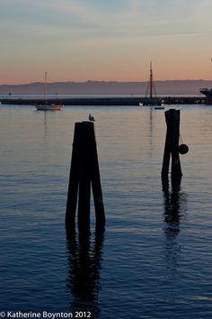Aquatic Park, San Francisco at dawn - 27-Oct-2012