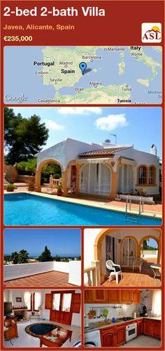 2-bed 2-bath Villa in Javea, Alicante, Spain ►€235,000 #PropertyForSaleInSpain