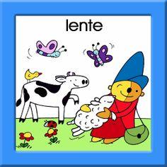 Kalenderkaartjes Pompom Spring School, Print Poster, Snoopy, Seasons, Teaching, Comics, Kids, Fictional Characters, Google