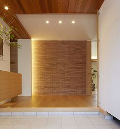 Natural Interior, Entrance Ways, Japanese House, Building A House, New Homes, Interior Design, Architecture, Furniture, Home Decor