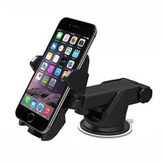 ESVNE Car Phone Holder GPS Auto Dashboard Windshield Mobile Cell Phone Car Holder Retractable Mount Stand Support cellular phone - Iphone Car Mount - Ideas of Iphone Car Mount - ESVNE Car Phone Holder GPS Auto Dashboard Windshield Mobile Cell Phone eefury Smartphone Car Holder, Smartphone Car Mount, Iphone Car Holder, Cell Phone Car Mount, Cell Phone Stand, Cell Phone Holder, Iphone Autohalterung, Iphone 6s Plus, Best Iphone