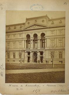 Kronenberg Palace also called Maison de Kronenberg, front