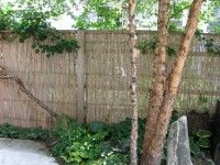 commercial grade bamboo fence