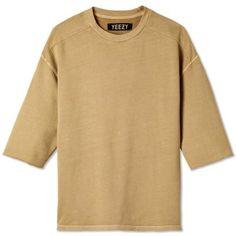 Yeezy Season 1 Short Sleeve Crew Sweat (Incense)