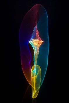 Light Painting - Light Art - Rob Turney Photography - Refractograph -  6/01/2015