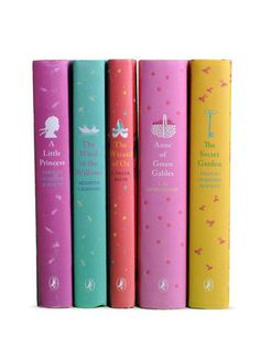 What an adorable way to give a little girl all of the classics!- Girl's Puffin Book Set (Set of 5) by Juniper Books LLC on Gilt Home