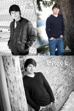 Senior Picture Poses For Guys | here are a variety of senior portrait ideas for guys michael was a ...