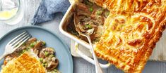 Australian Mushrooms | Chicken and Mushroom Pie