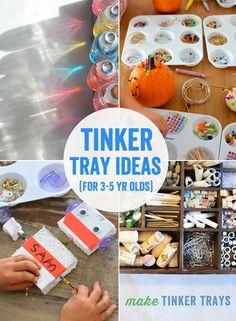 50 + Art Projects for Year Olds Tinker Tray Idea. - 50 + Art Projects for Year Olds Tinker Tray Ideas for 3 to 5 Year Olds 50 + Art Projects for Year Olds Tinker Tray Ideas for 3 to 5 Year Olds - ? Projects For Kids, Art Projects, Crafts For Kids, Science Projects, Easy Crafts, Preschool Learning, Preschool Art, Kindergarten Art, Reggio Emilia