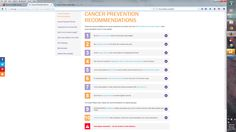 Everyone can do it - there are ten simple recommendations for cancer prevention
