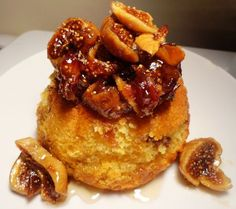 Fattening up my friends this Saturnalia (Dec. 17th-23rd): Roman honey date cakes with figs and dates stewed in honey.  As good as it looks!