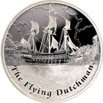 Tuvalu 2013 1$ The Flying Dutchman Famous Ships That Never Sailed Proof Silver Coin Flying Dutchman, Proof Coins, Silver Coins, Villas, Sailing Ships, Gold, Coins, Sheet Music, Postage Stamps