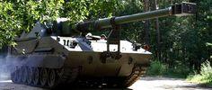 Polish self-propelled howitzer AHS Krab