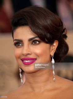 Actress Priyanka Chopra attends the 22nd Annual Screen Actors Guild Awards at The Shrine Auditorium on January 30, 2016 in Los Angeles, California.