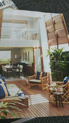 Enclosed deck Enclosed Decks, Outdoor Living, Outdoor Decor, Loft, Patio, Bed, Furniture, Home Decor, Patio Enclosures