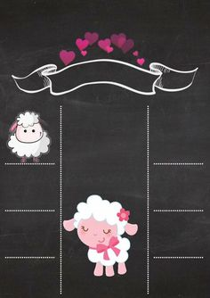 Ovelha Baby Shower Party Favors, Baby Shower Signs, Baby Shower Templates, Baby Showers, Baby Girl Quotes, Baby Shower Invitaciones, Baby Tattoos, Baby Memories, Diy Birthday