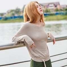 30% Off Your Fist Order! - $24.79 - Women's Long Sleeve V Neck Loose Knit Sweater With Tie Waist - http://www.voguesus.com/en/sweaters-knits/769-women-s-long-sleeve-v-neck-loose-knit-sweater-with-tie-waist.html - #fashion #style #trend #ootd #beauty #cutegirl #followme #selfie #clothing #dress #buy #sale #coupon #vogue #voguesus