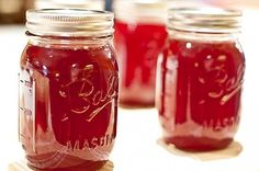 I grew up eating homemade muscadine jelly on hot buttered biscuits in the mornings or even as the J in my peanut butter and jelly sandwiches. Muscadine jelly definitely is delicious. It tastes similar to grape jelly, but with a bit more tartness. You may want to read about my love of muscadines.