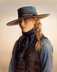 Wyoming Blue Eyes, Carrie Ballantyne (1956-, American)