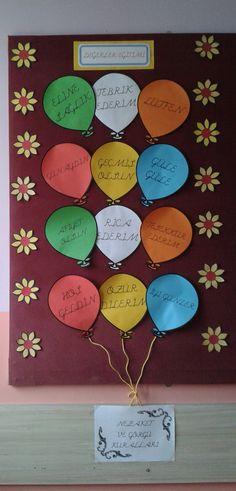 Nezaket ve Görgü Kuralları Class Decoration, School Decorations, Classroom Board, Classroom Decor, Creative Teaching, Teaching Kids, Values Education, School Librarian, Teacher Tools