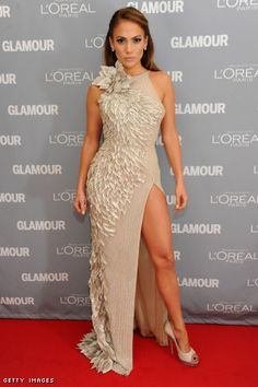 I love Jennifer Lopez, her style is incredible and I absolutely love this dress!