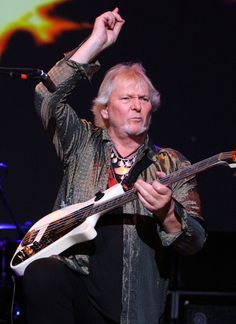 Chris Squire bassist and founding member of Yes