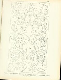 Ornamental details of the Italian Renaissance