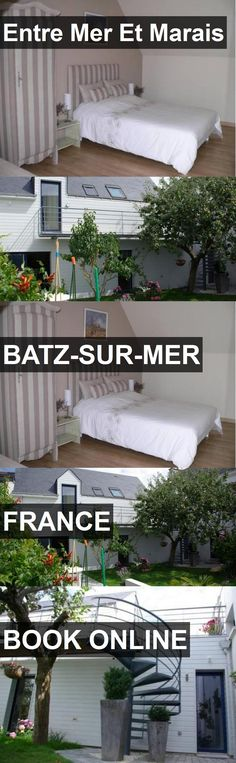 Hotel Entre Mer Et Marais in Batz-sur-Mer, France. For more information, photos, reviews and best prices please follow the link. #France #Batz-sur-Mer #travel #vacation #hotel