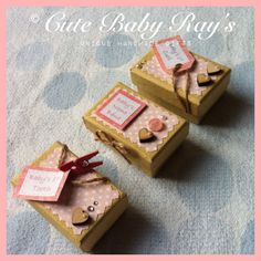 3 mini baby keepsake boxes tooth curl name by cutebabyrays
