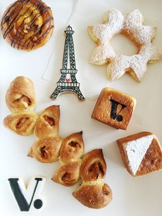 French pastries | Voyageur du Temp