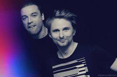 Chris Wolstenholme & Matt Bellamy #Muse