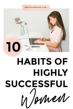 Is it your turn to reach success? Do you want to build habits that produce successful results? If your answer is absolutely, you need to check out these 10 habits of highly successful women. Habits Of Successful People, Successful Women, Good Habits, Healthy Habits, 7 Habits, Woman Quotes, Self Development, Personal Development, Inspiration Entrepreneur