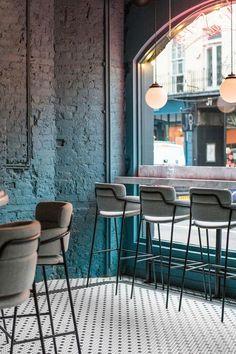 Restaurant Interior Design, Home Interior, Interior Decorating, Design Café, Cafe Design, Architecture Restaurant, Interior Architecture, Decoration Restaurant, Coffee Shop Design