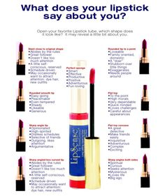 What does your lipstick say about you?... www.SeneGence.com/AngelineStacy