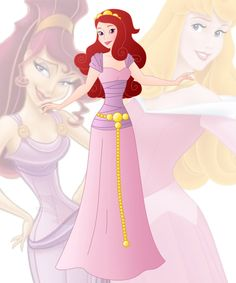 disney fusion: Aurora and Meg by Willemijn1991 on DeviantArt