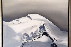 Overview of artwork and exhibitions, past and future - Saas-Fee mountain painting Saas Fee, Mountain Paintings, Zermatt, Past, Artwork, Beautiful, Past Tense, Work Of Art, Auguste Rodin Artwork