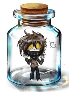 Here we go, my second bottled pasta! I drew Ticci Toby this time. Ticci Toby belongs to Art belongs to me Original meme is from Pixiv. Ticci Toby in a Bottle Scary Creepypasta, Creepypasta Proxy, Jeff The Killer, Creepy Stories, Horror Stories, Creepypastas Ticci Toby, Creepy Pasta Family, Eyeless Jack, Ben Drowned
