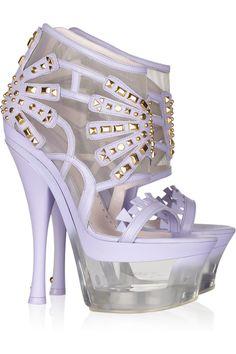 Versace sandals. hot damn.