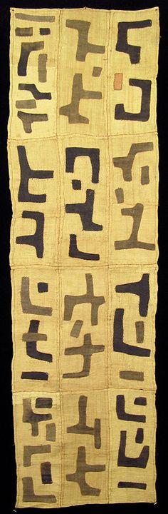 Kuba Textiles, Dancing Skirt, DRC.