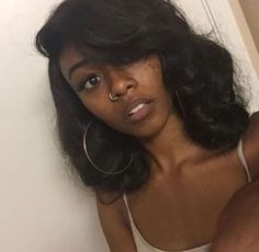 Bob Wavy Glueless Full Lace Remy Brazilian Hair Wigs for Black Women Frontal Cheap Lace Front Bob Wave Human Hair Wigs Weave Hairstyles, Pretty Hairstyles, Straight Hairstyles, Black Is Beautiful, Gorgeous Hair, Curly Hair Styles, Natural Hair Styles, Pelo Afro, Pelo Natural
