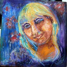 Eve B'AY (©0000 artmajeur.com/ebednay) Oil on fibreboard